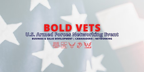 Speed Networking | Bold Vets - U.S.A. tickets