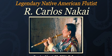 Signature Series: Native American Flutist R. Carlos Nakai. Drive-In Concert tickets