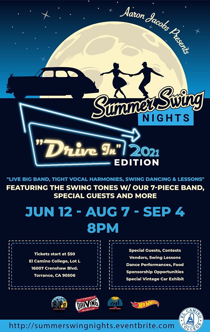 Summer Swing Nights 2021 - DRIVE-IN Edition image