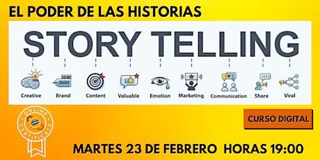 EL PODER DE LAS HISTORIAS - STORYTELLING entradas