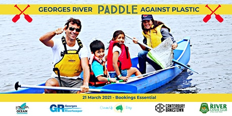 Georges River Paddle Against Plastic 2021 tickets
