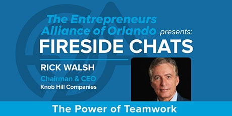 A Fireside Chat with Rick Walsh tickets