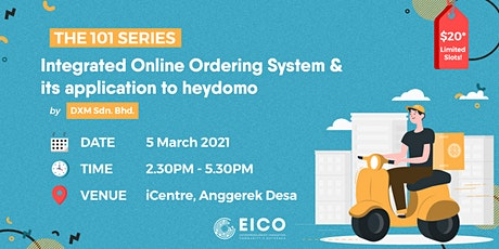 Integrated Online Ordering  System & its application to heydomo tickets