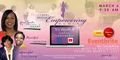 17th Annual Women Empowering Women's Conference ingressos