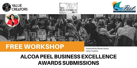Alcoa Peel Business Excellence Awards Submissions Workshop tickets