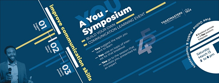 You Symposium - Build Your Own Improve Communication Skills Learning Event image