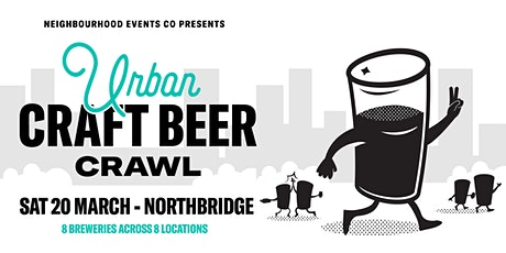 Urban Craft Beer Crawl - Northbridge tickets