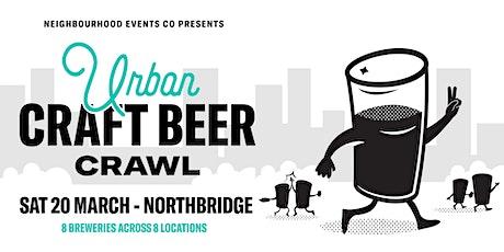 Urban Craft Beer Crawl - Northbridge tickets