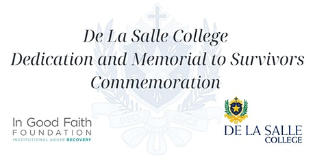 De La Salle College Memorial to Survivors Commemoration tickets