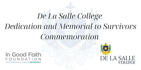 De La Salle College Memorial to Survivors Commemoration tickets