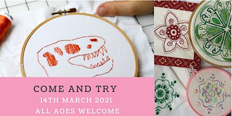 Come and Try Stitching Day tickets