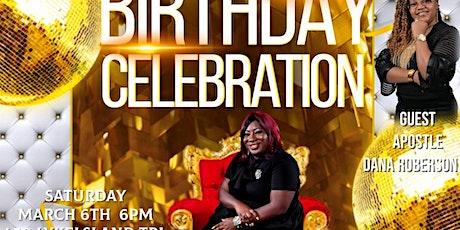 Apostle Chyna Davis 31st Birthday Celebration tickets