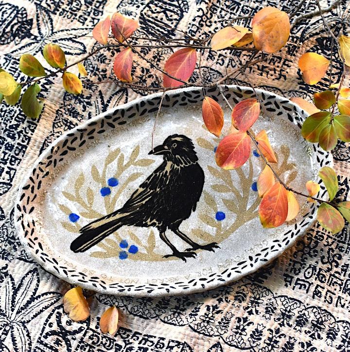 Decorative Clay Platter Workshop image