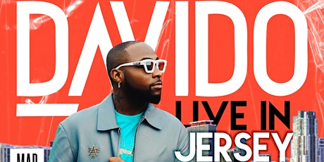 DAVIDO LIVE IN JERSEY billets