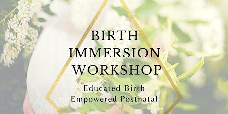 Birth Immersion Workshop tickets
