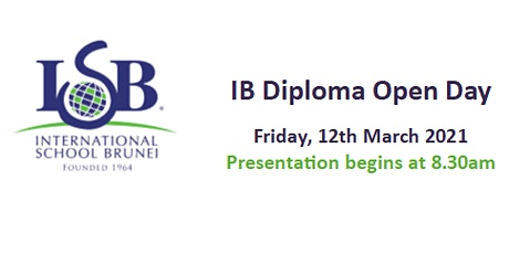 ISB IB Diploma Programme Open Day for prospective Year 12 students tickets
