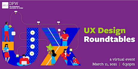 2021 UX Design Roundtables tickets