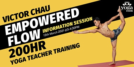 200-hour Yoga Teacher Training with Victor Chau - Information Session tickets