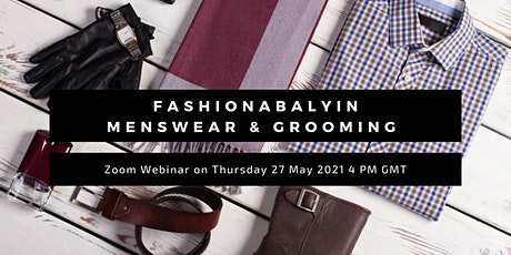 Fashionablyin Menswear & Grooming tickets