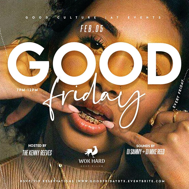 Good Friday | The Friday Happy Hour & Dinner Party image