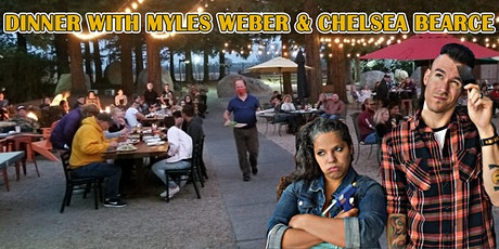 Headline Comedy Outside! Dinner With Myles Weber & tickets