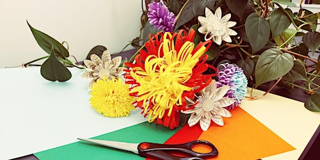Inspirations Craft Group @ Girrawheen Library - Paper Flower Workshop tickets