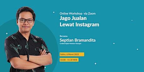 Jago Jualan Lewat Instagram tickets