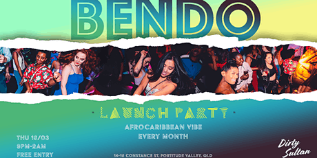 AfroCaribbean Party by Bendo Thursday - Brisbane tickets