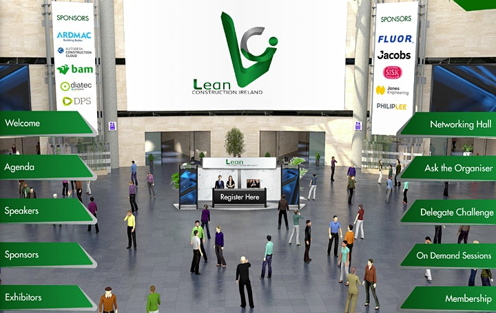 Lean Construction Ireland National Conference 2021 image
