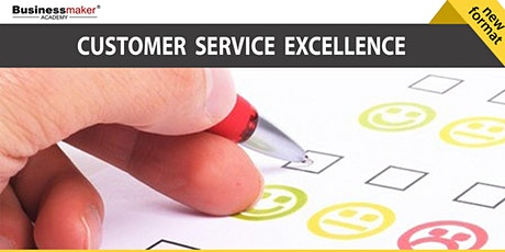 Live Webinar: Customer Service Excellence tickets