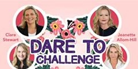 Dare to Challenge Power Lunch tickets