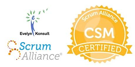 Virtual Online Interactive Certified ScrumMaster (CSM) tickets