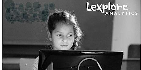 Lexplore Analytics - Eye Tracking Reading Assessment Demonstration ingressos