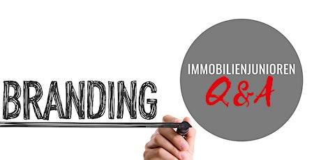 Optimiere dein Personal Branding in der Immobilienwirtschaft Tickets