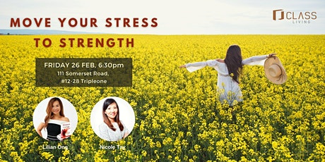 Move your Stress to STRENGTH tickets
