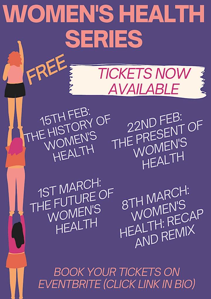 Women's Health Series (online) image