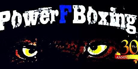 """Profiboxen in Berlin * 30 Jahre PowerFBoxing  """"Unsere Besten"""" Nachhole Show entradas"""