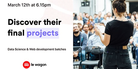 Le Wagon Demo Day [Batches 556 & 557] tickets