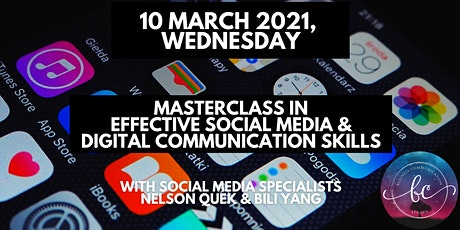1-Day Masterclass in Effective Social Media & Digital Communication Skills tickets