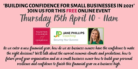 Building Confidence for Small Businesses in 2021 tickets