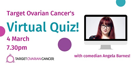 Target Ovarian Cancer's Virtual Quiz! tickets