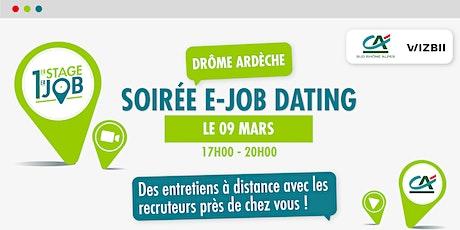 E-Job Dating Drôme & Ardèche : décrochez un emploi dans votre région billets