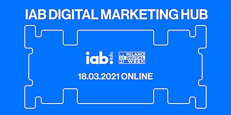 IAB Digital Marketing Hub biglietti