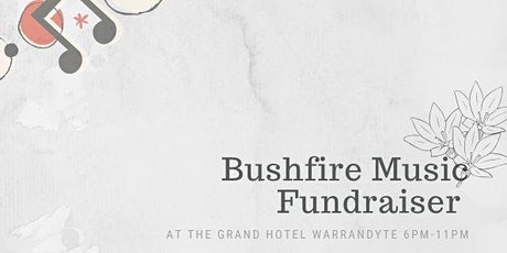 Bushfire Music Fundraiser  tickets