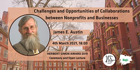 James E. Austin (HBS) Herbert Simon Award 2019 Ceremony and Lecture tickets