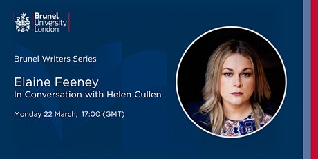 Brunel Writers Series - Elaine Feeney in Conversation with Helen Cullen tickets