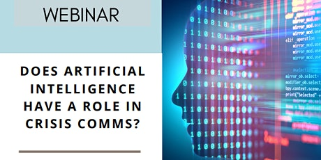 Does Artificial Intelligence have a role in crisis communication? biglietti