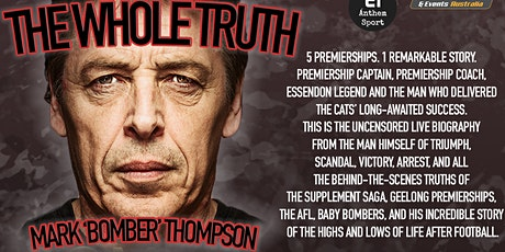 Bomber Thompson tell all LIVE show at Shoppingtown Hotel! tickets