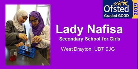 Lady Nafisa School Open Evening tickets