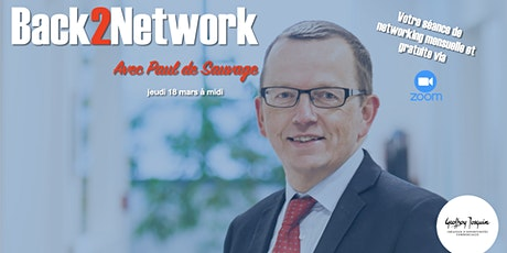 Back2Network avec Paul de Sauvage billets